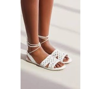 Sling back Woven Urban Outfitters Sandal